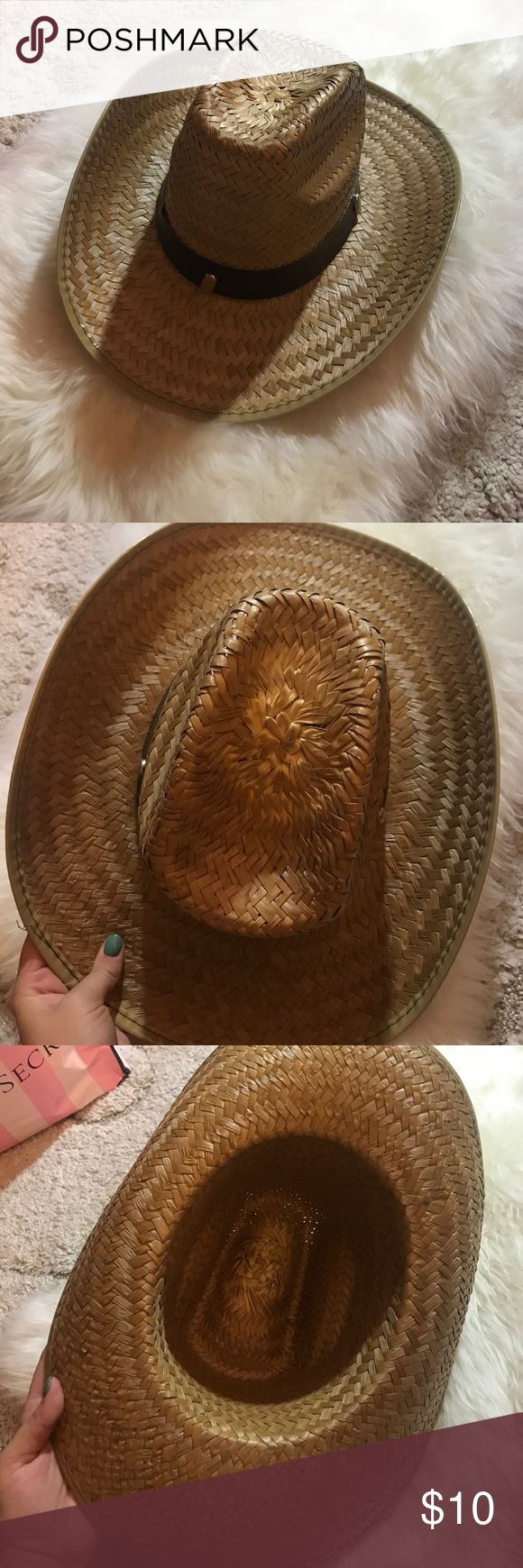 Cowboy Hat Nothing special quality-wise, some exposed staples and whatnot... but will totally work for a country concert or costume purposes. Accessories Hats