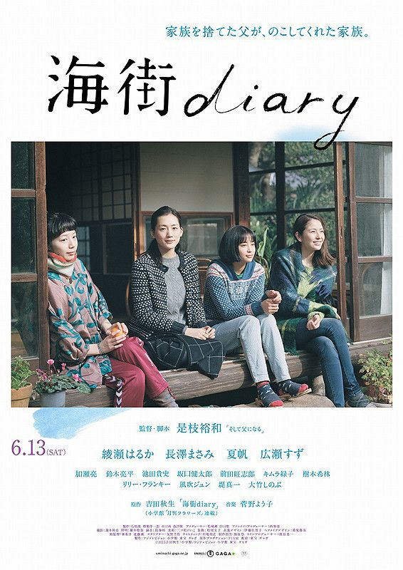 海街diary ★★★ 3.0