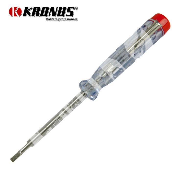 Tester de tensiune 220-250 V (EN60900) Kronus art. 7630 (7630140)