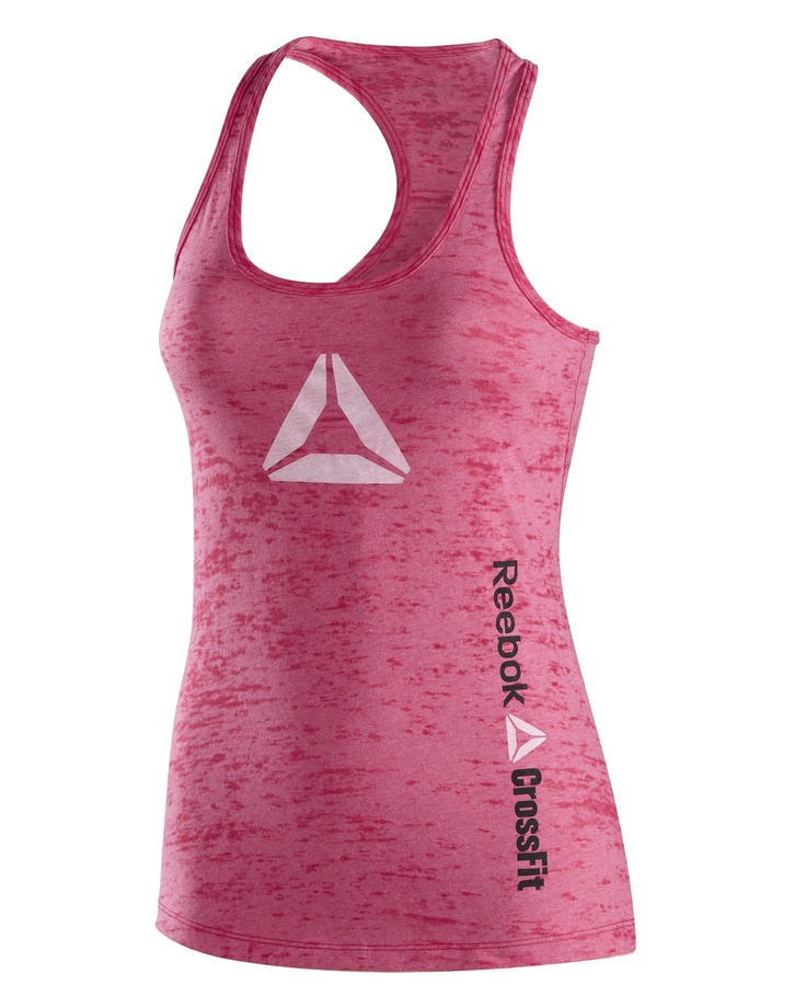 CrossFit HQ Store- Burnout Delta Tank - Women Buy Authentic CrossFit T-Shirts, CrossFit Gear, Accessories and Clothing
