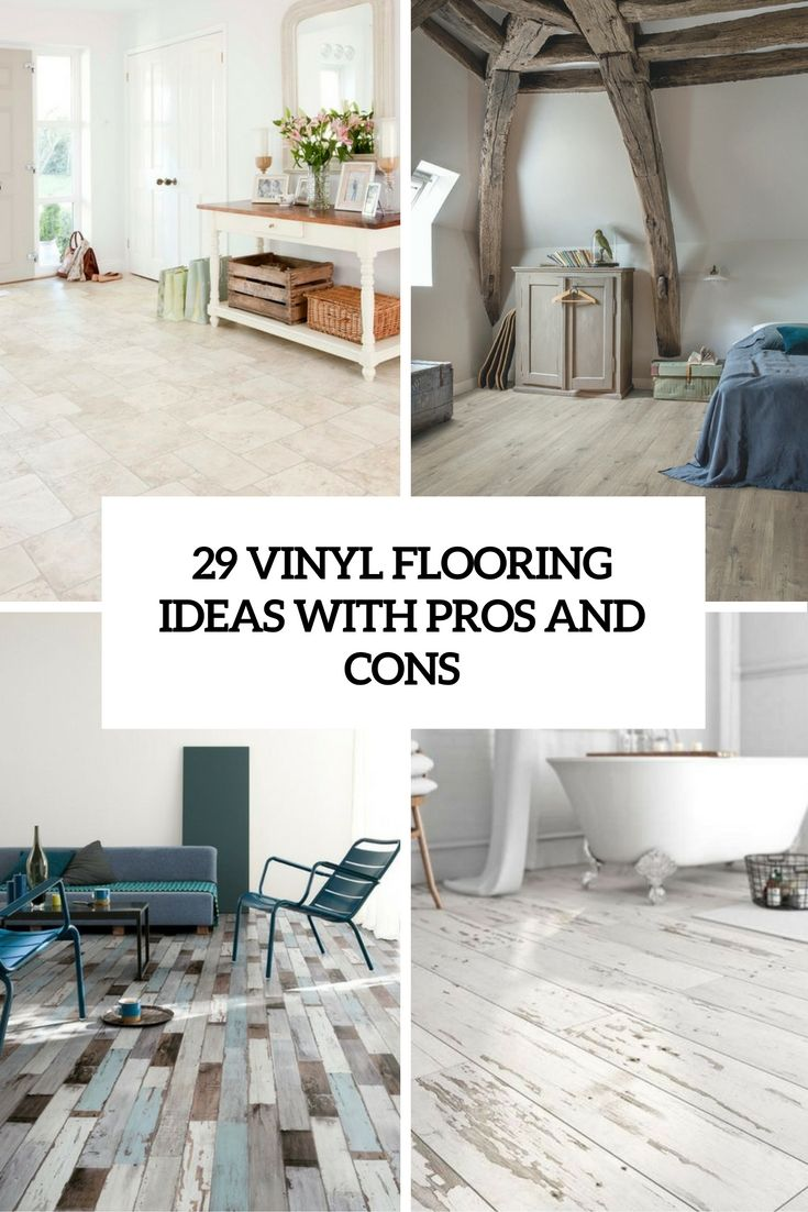 white washed vinyl flooring would love for a laundry