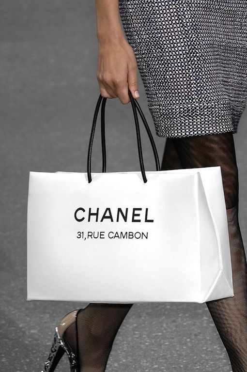 "Chanel ""paper bag"""