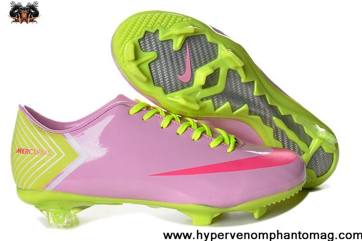 Nike Mercurial Vapor 10 FG Cristiano Ronaldo Pink Red Green Shoes Soccer Boots For Sale