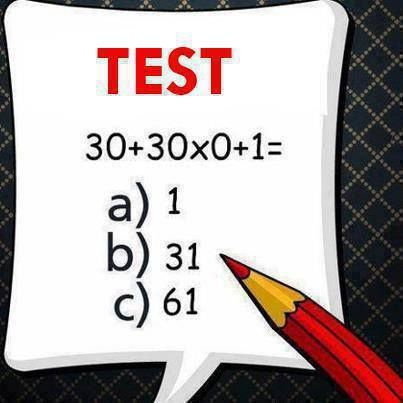 Lets see how many of you pass in this Math's Test. All the best (y)  #MathsQuiz