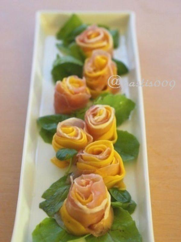 コリンキーと生ハムで薔薇サラダ by pastis009 | レシピサイト「Nadia ...