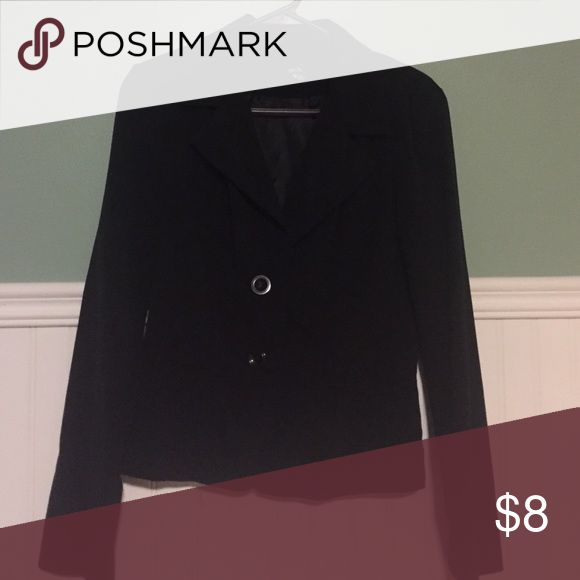BCX Black Suit Jacket Simple black BCX brand blazer. Perfect for college or starting your career! Has previous wear but still in good shape. Size: M BCX Jackets & Coats Blazers