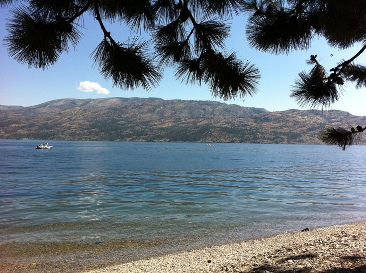 beautiful Peachland, B.C. on lake Okanagan