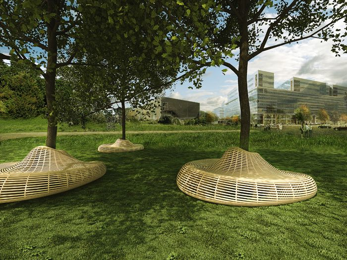 THA Arkitekter - La Isla street furniture, together with designer Gonzalo Scolari
