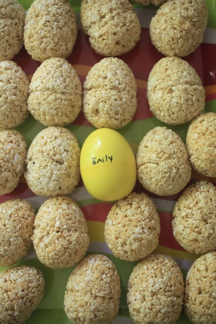 How to make Rice Krispie treat eggs for Easter (no stove)