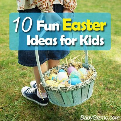 11 best fun easter ideas for kids images on pinterest easter 10 fun easter ideas for kids family easter negle Choice Image