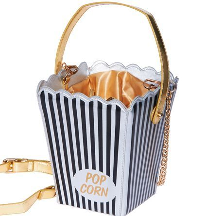 Cinematic Popcorn Box Purses - 'Romwe's' Unique Purses Make Your Outfit More Entertaining (GALLERY)