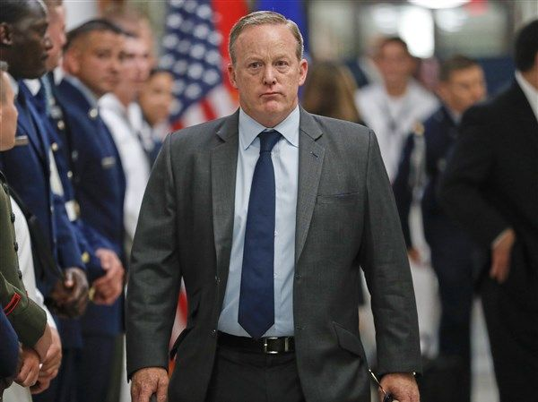 Sean Spicer to speak at #shale conference, Pittsburgh http://www.post-gazette.com/powersource/policy-powersource/2017/09/06/sean-Spicer-former-trump-press-secretary-shale-insight-Pittsburgh-in-September/stories/201709060118?utm_content=buffer41b0f&utm_medium=social&utm_source=pinterest.com&utm_campaign=buffer  #energy #USA #oil #gas #oilandgas #fracking #alxcltd #evenort