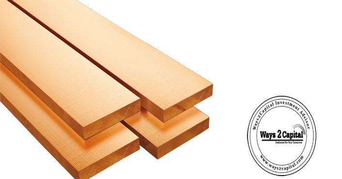 Copper futures were trading higher during the afternoon trade in the domestic market