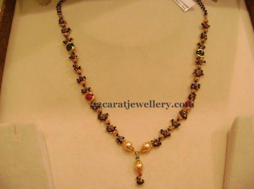Below 15gms Black Beads Sets Gallery