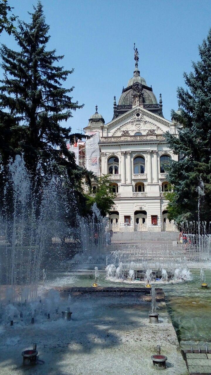 State Theatre in Košice, Slovakia