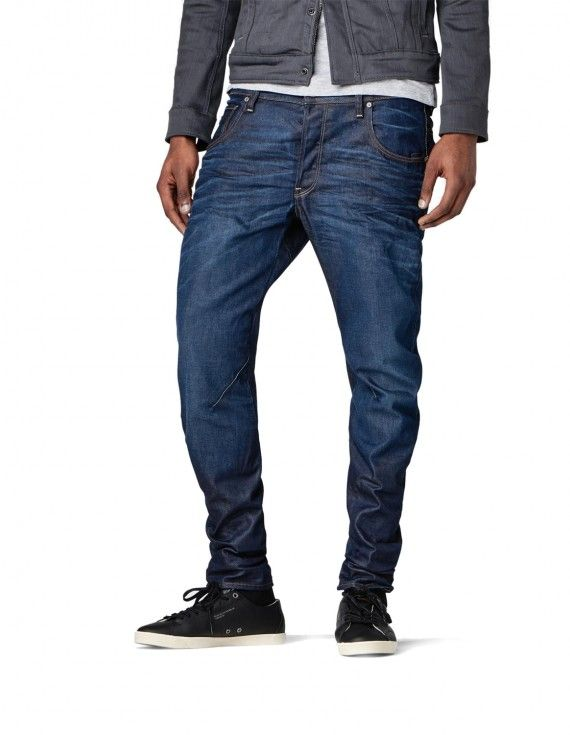 BLUE JEANS WITH STITCH DETAILS