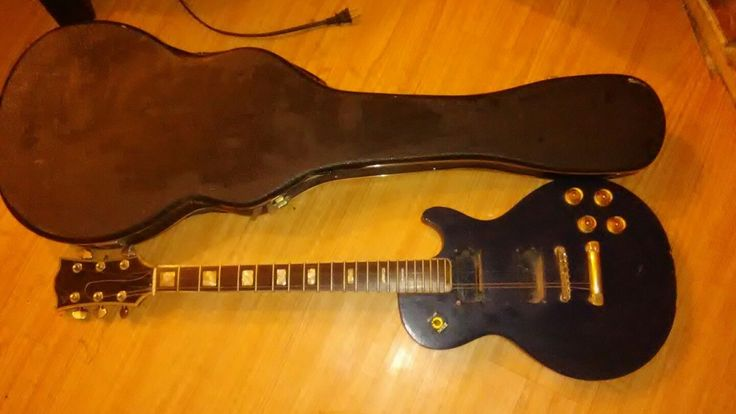 Vintage Gibson? Les Paul? Electric Guitar Garage Sale Find With Case