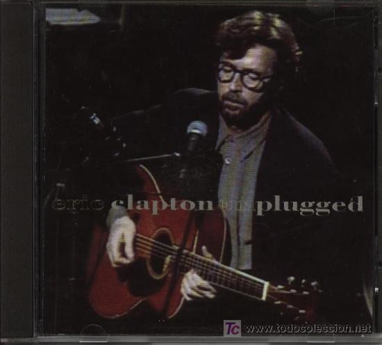 ERIC CLAPTON, UNPLUGGED. CD. LAYLA, ALBERTA, OLD LOVE, WALKIN´BLUES, SAN FRANCISCO BAY BLUES...