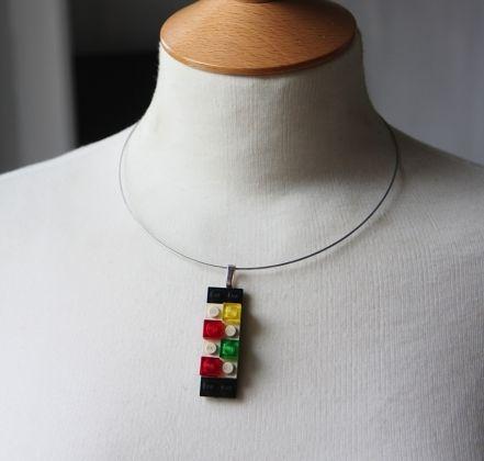 Lego necklaces €10 www.trulyirishcraft.com