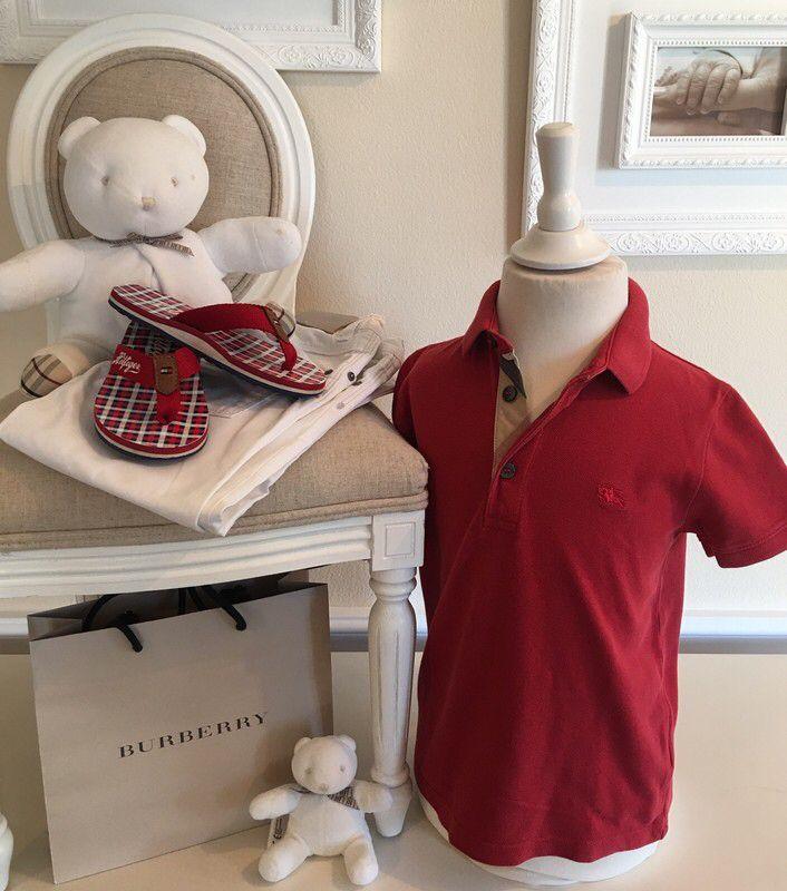 Mein Orig. Burberry Polo Shirt Gr.5 Jahre / 108 cm von Burberry! Größe 104 für 30,00 €. Schau´s dir an: http://www.mamikreisel.de/kleidung-fur-jungs/poloshirts/42519174-orig-burberry-polo-shirt-gr5-jahre-108-cm.