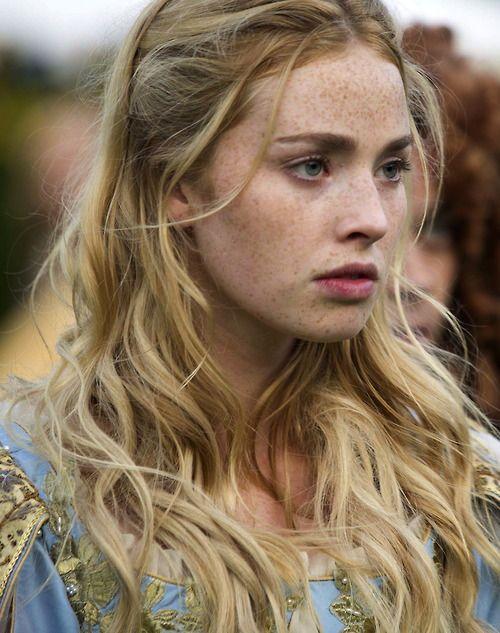 Freya Mavor as Beth Fanshawe inNew Worlds (TV Mini-Series, 2014).