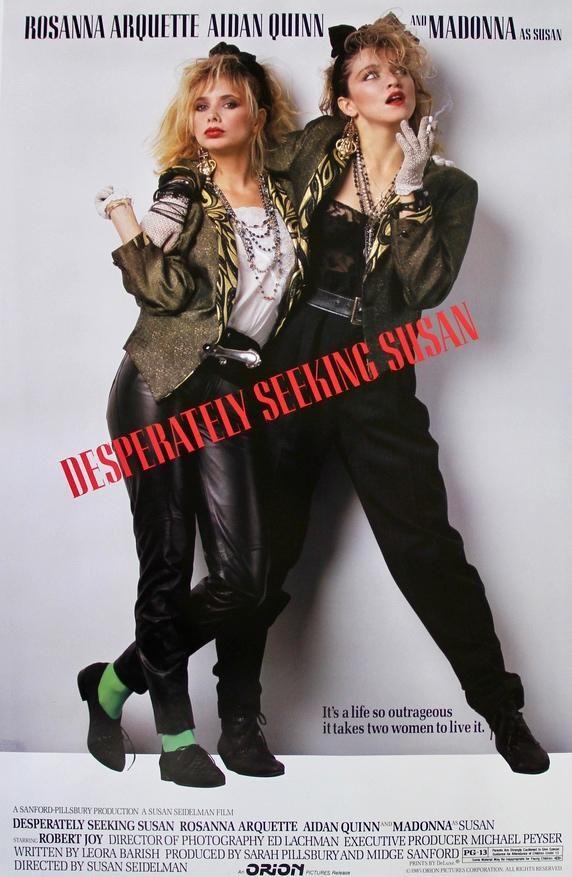 Desperately Seeking Susan (1985) Original One-Sheet Movie Poster