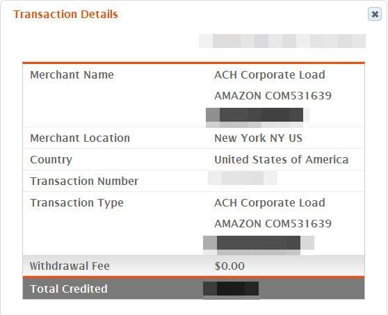 บัตรเดบิตอเมริกา Payoneer Card สมัครฟรี: ทดสอบรับเงินจาก Amazon Associates ผ่าน Bank Of Ame...