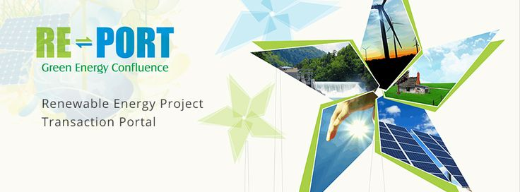 RE-Port Renewable Energy Transaction Portal help investors interested in India's renewable space, A portal that would facilitate buying and selling of renewable energy projects. http://www.re-port.in/