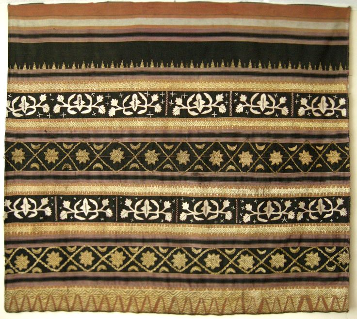 traditional kain tapis Lampung, Sumatra, Indonesia, 1950 or earlier
