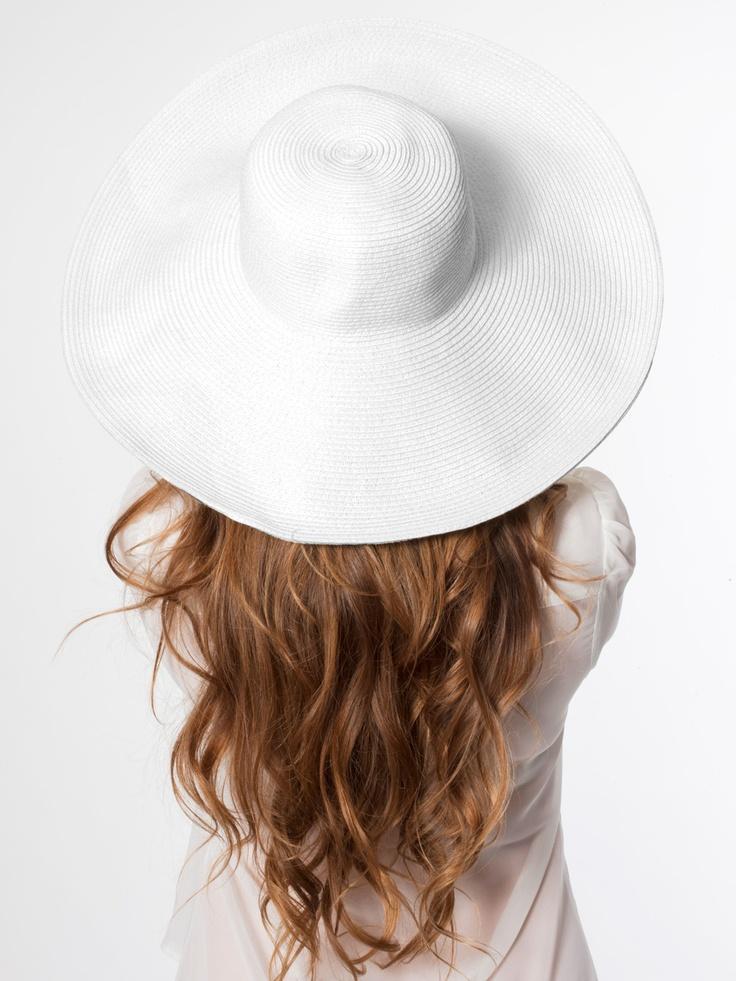 American Apparel - Floppy Summer Hat #AmericanApparel  #PinATripWithAA