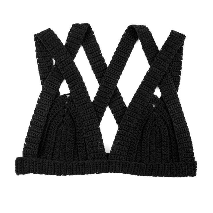Bandage Crochet Bralet Top / MITU HANDMADE