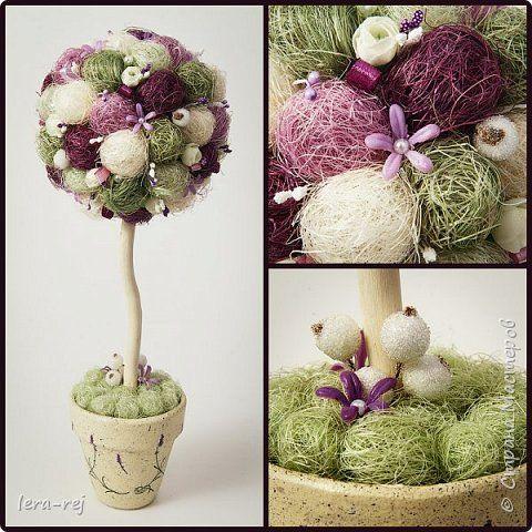 Работы из сизалевых шариков. Вдохновитель - Мария Шарафеева. Огромное спасибо фото 6