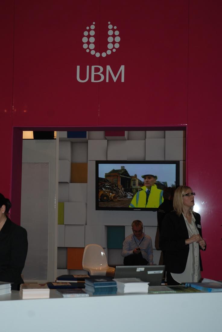 UBM stand #Ecobuild