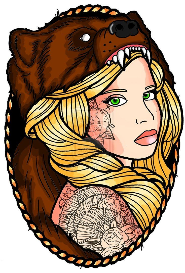 Best 25+ Traditional bear tattoo ideas on Pinterest ...