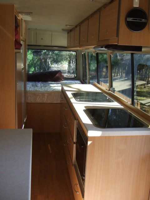 Another conversion crowd. This one has our choice of bed plus great windows!