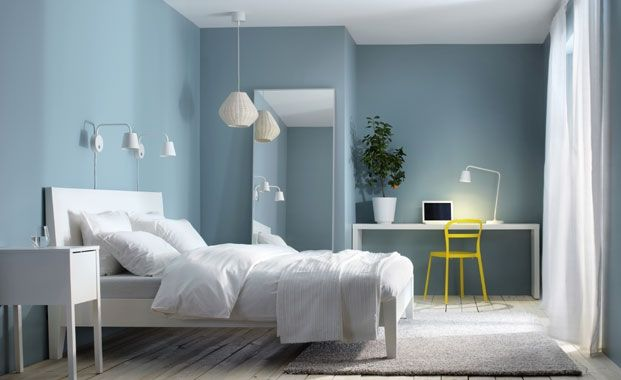 Decorate with a soothing colour scheme
