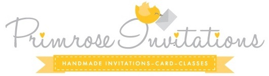 I love Tracy's hand crafted invitations, and her logo takes cute to a whole new level  http://primrose-cards.myshopify.com/