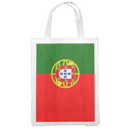 #Portuguese flag of Portugal grocery shopping bag - #country gifts style diy gift ideas