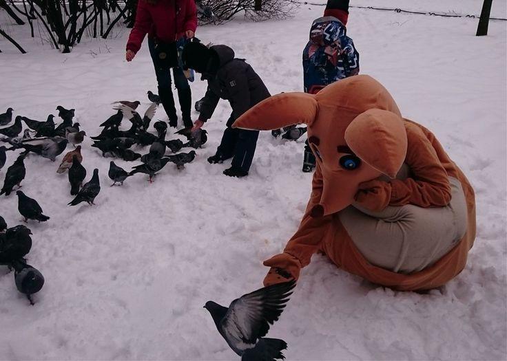 """Развивающее занятие """"Праздник Зимующих птиц"""",  2016"""
