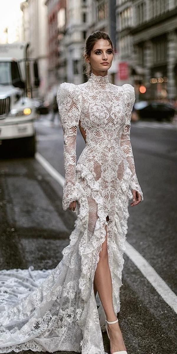 36 Totally Unique Fashion Forward Wedding Dresses