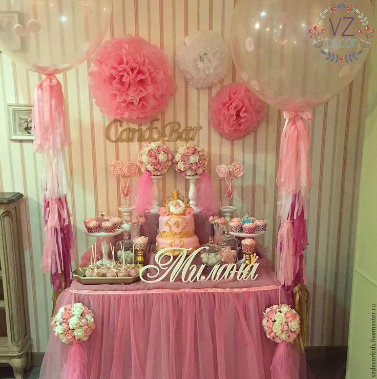 Купить Сладкий стол Принцесса МИ - розовый, сладкий подарок, сладкий стол, принцесса, для девочки