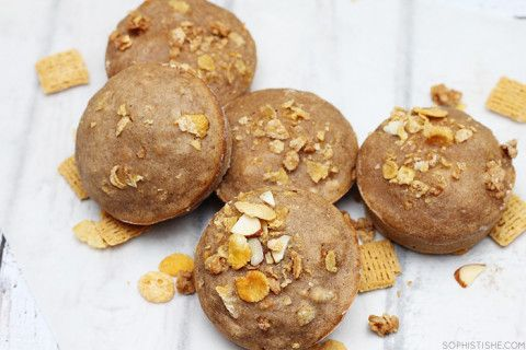 Cereal muffins - I think I would substitute granola and organic cereal