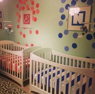 17 Best Images About Iker Babaszoba Tletek Twin Nursery Room Ideas On Pint
