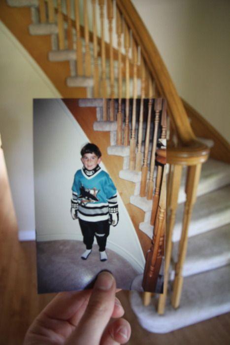 Dear Photograph,  Why did I ever get a Sharks jersey? Go Leafs Go.  @TJ