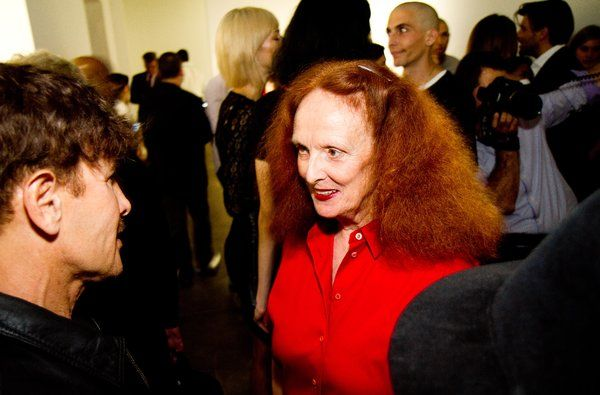 Grace Coddington, Accidental Celebrity of 'The September Issue,' Steps Down at Vogue - NYTimes.com (Discussed in episode 101 of the Pop Fashion podcast)