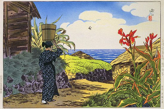 ito shinsui landscapes | hanga gallery . . . torii gallery: In Broad Daylight by Ito Shinsui