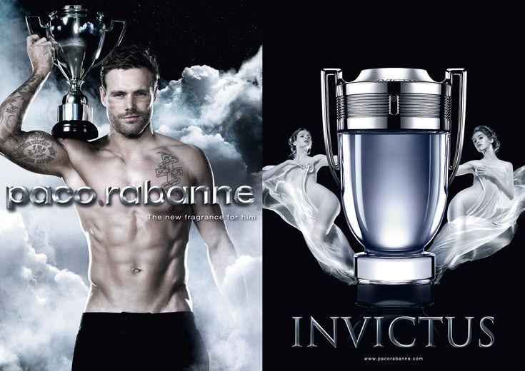 """Paco Rabanne lancia Invictus, la nuova fragranza maschile,che rappresenta la creazione fresca e sportiva della maison. Il profumo Invictus , in latino significa """"invincibile"""", rappresenta il potere, il dinamismo e l'energia."""
