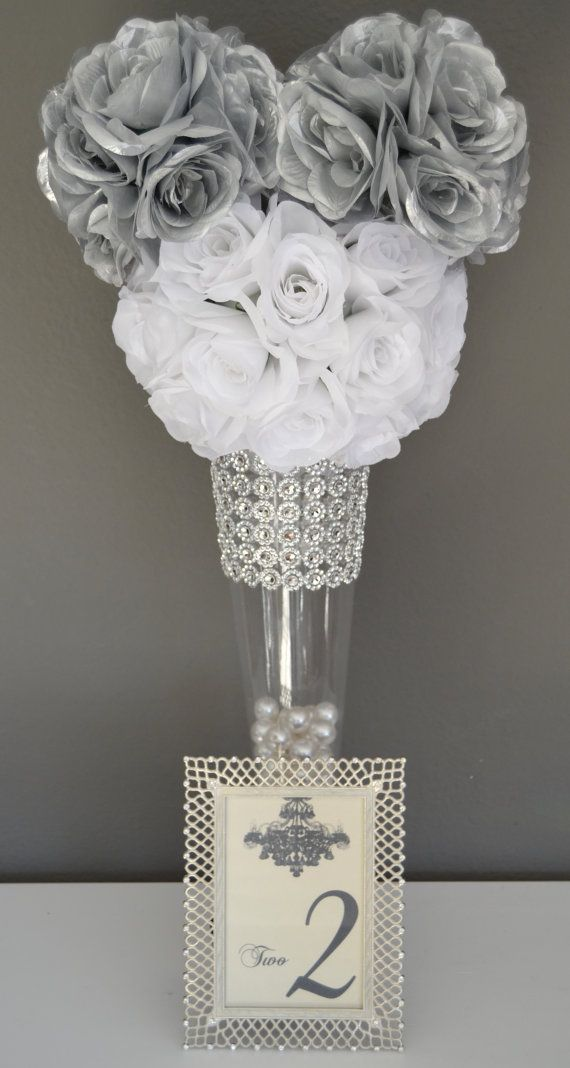 Disney Wedding Centerpiece Mickey Mouse by KimeeKouture on Etsy