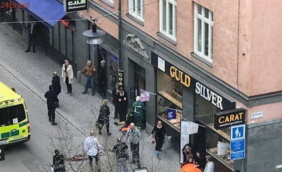 Homem suspeito de atacar multidão na Suécia é do Uzbequistão