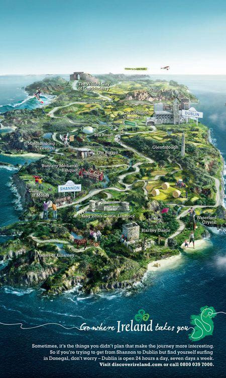 Tourism Ireland —Publicis Kaplan Thaler